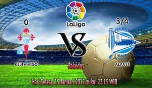 Prediksi Skor Celta Vigo vs Alaves 15 Januari 2017