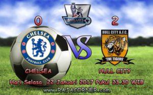Prediksi Skor Chelsea vs Hull City 22 Januari 2017