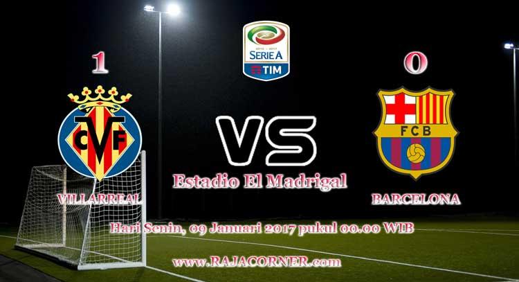 Prediksi Skor Villarreal vs Barcelona 9 Januari 2016