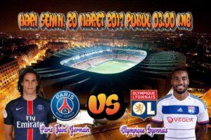 Prediksi Skor Paris Saint Germain vs Lyon 20 Maret 2017