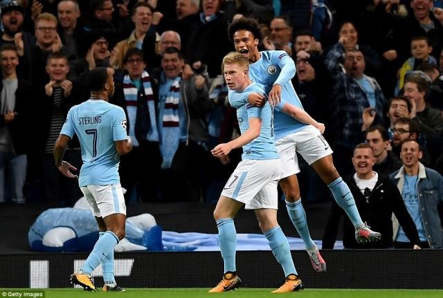 Hasil Akhir Pertandingan Manchester City vs Napoli : Skor 2-1