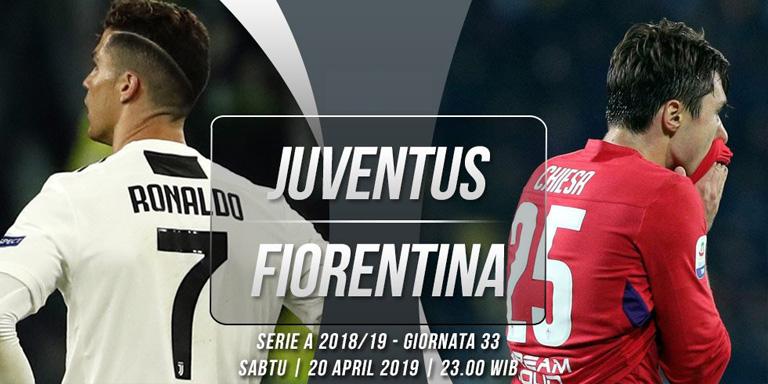 Prediksi Juventus vs Fiorentina 20 April 2019